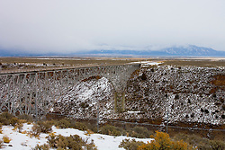 Rio Grande River Gorge Bridge, Taos, NM<br />