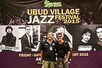 Ubud Village Jazz Festival, 7/8/2015.