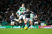 Dundee&rsquo;s Faissal El Bakhtaoui misses a golden chance to earn the Dark Blues a point at Celtic Park - Celtic v Dundee in the Ladbrokes Scottish Premiership at Celtic Park, Glasgow. Photo: David Young<br /> <br />  - &copy; David Young - www.davidyoungphoto.co.uk - email: davidyoungphoto@gmail.com