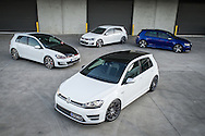 VW Golf GTI & VW Golf R Group Photo Shoot 12th Sept