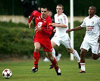 Fotball, 03. februar 2005, La Manga, Brann - Lokomotiv Moskva, Paul Scharner, Brann