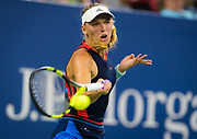 Caroline Wozniacki of Denmark in action during the second round at the 2018 US Open Grand Slam tennis tournament, at Billie Jean King National Tennis Center in Flushing Meadow, New York, USA, August 30th 2018, Photo Rob Prange / SpainProSportsImages / DPPI / ProSportsImages / DPPI