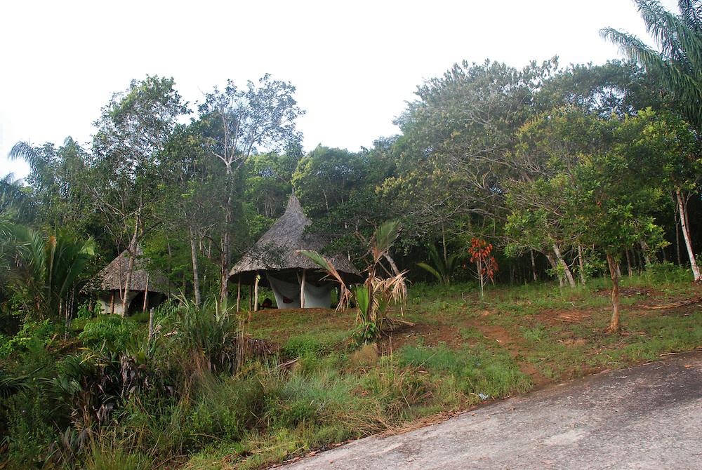 Campamento Manaca en el rio Sipapo, estado Amazonas, Venezuela. ©Jimmy Villalta