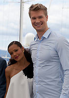 Actress Thandie Newton and Actor Joonas Suotamo at the Solo: A Star Wars Story film photo call at the 71st Cannes Film Festival, Tuesday 15th May 2018, Cannes, France. Photo credit: Doreen Kennedy
