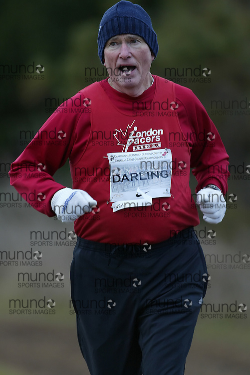 (Guelph, Ontario---28 November 2009)  Richard Darling race at the 2009 AGSI Canadian National Cross Country Championships. in Guelph, Ontario, November 28, 2009..Copyright SEAN BURGES/ Mundo Sport Images, 2009.