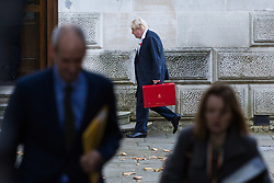London, November 06 2017. Foreign and Commonwealth Secretary Boris Johnson arrives at the Foreign Office. © Paul Davey