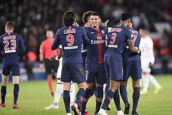 January 27, 2019 - Paris, France - 02 THIAGO SILVA (PSG) - JOIE (Credit Image: © Panoramic via ZUMA Press)