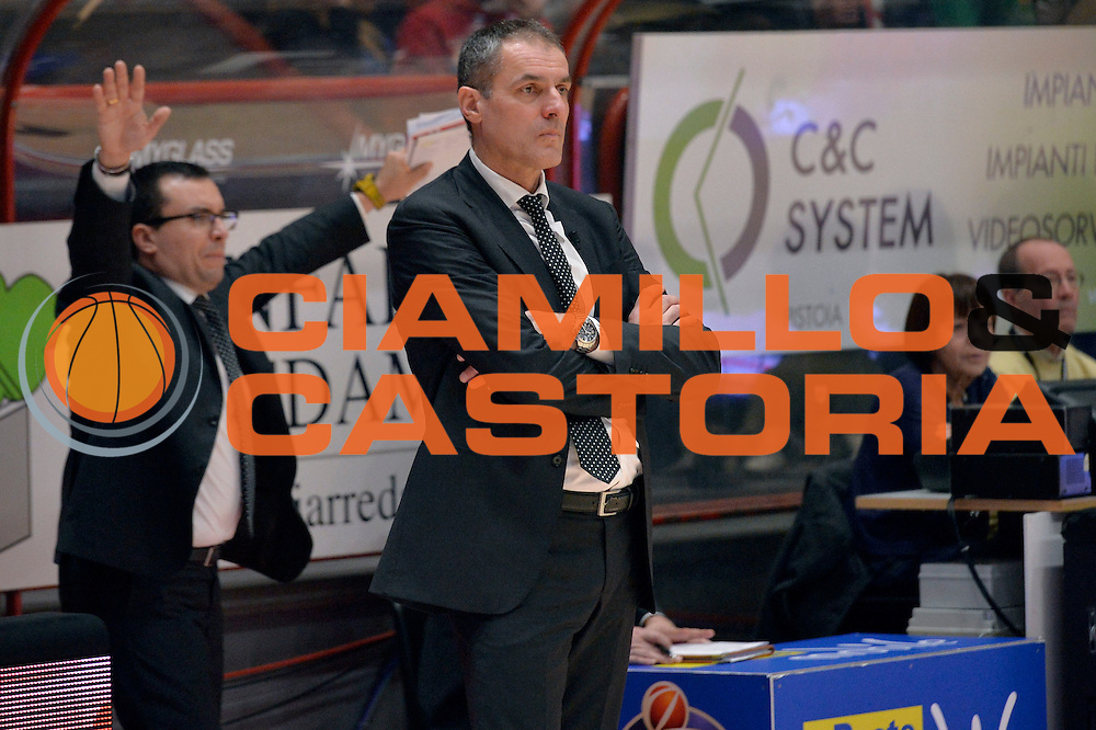 Sandro Dell'Agnello<br /> The FlexX Pistoia Basket - Pasta Reggia Juve Caserta<br /> Lega Basket Serie A 2016/2017<br /> Pistoia, 13/02/2017<br /> Foto Ciamillo-Castoria
