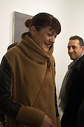 LIBERA FALZETTI,  LUCA PERRONE; Behind the Silence. private view  an exhibition of work by Paul Benney and Simon Edmondson. Serena Morton's Gallery, Ladbroke Grove, W10.  4 November 2015.