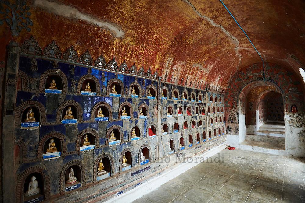 Myanmar (ex Birmanie), Province de Shan, Lac Inle, monastere Shweyanpyay // Myanmar (Burma), Shan province, Inle lake, Shweyanpyay monastery