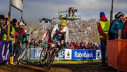 David FLETCHER (59,GBR) 2nd lap at Men UCI CX World Championships - Hoogerheide, The Netherlands - 2nd February 2014 - Photo by Pim Nijland / Peloton Photos