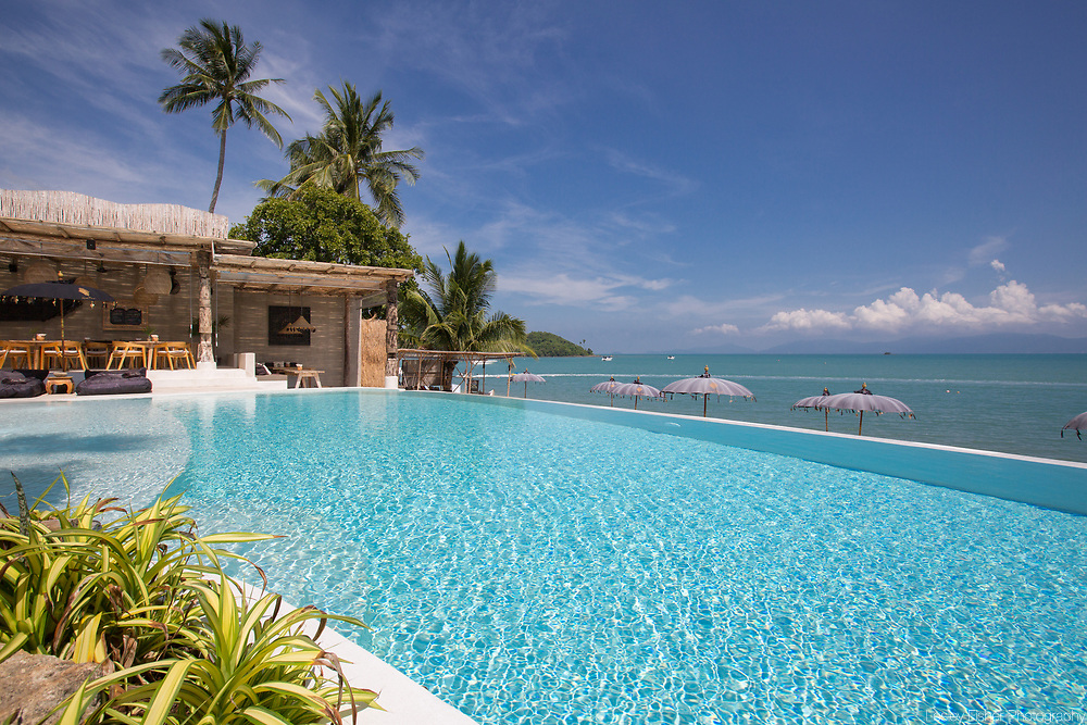 Karma Beach Resort, a unique resort located on Bophut Beach, Koh Samui, Thailand