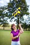 Seance de golf au Golf du Gouverneur, Monthieux, Ain. France.