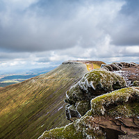 Pen y fan viewed from Corn Ddu, Brecon Beacons