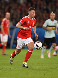 James Chester of Wales  - Mandatory by-line: Joe Meredith/JMP - 01/07/2016 - FOOTBALL - Stade Pierre Mauroy - Lille, France - Wales v Belgium - UEFA European Championship quarter final