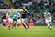 Celtic's Erik Sviatchenko chases Dundee's Marcus Haber - Celtic v Dundee in the Ladbrokes Scottish Premiership at Celtic Park, Glasgow. Photo: David Young<br /> <br />  - © David Young - www.davidyoungphoto.co.uk - email: davidyoungphoto@gmail.com