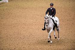Eilberg Michael (GBR) - Half Moon Delphi<br /> Grand Prix - Reem Acra FEI World Cup Dressage Qualifier - The London International Horse Show Olympia - London 2012<br /> © Hippo Foto - Jon Stroud