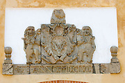 Crest above entrance to Galle Fort. Restored on early 2008