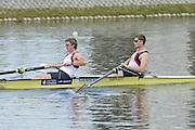 Caversham, Great Britain.  GBR M2-. Bow Cameron NICHOL and Tom BURTON. GB Rowing media day, GB Rowing Training Centre, Caversham. Tuesday,  18/05/2010 [Mandatory Credit. Peter Spurrier/Intersport Images]