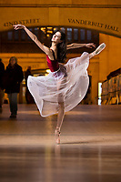 Dance As Art The New York City Photography Project Grand Central Series with dancer