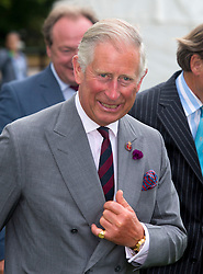 WINDSOR- UK -28-JULY-2013: Britain's Prince Charles, The Prince of Wales will attend the Audi International Polo featuring the Westchester Cup at the Guards Polo Club in Windsor Great Park, Egham. The match was won by England 13-12<br /> <br /> The Westchester Cup will be the flagship fixture of the Audi International Polo Series for the 2013 season, when England takes on the USA on Sunday 28th July. This will be the first UK staging of the Westchester Cup, the Ryder Cup of Polo, in 16 years. The Westchester Cup is polo&rsquo;s oldest and most prestigious trophy and is always played between England and the USA. England currently holds the trophy after defeating a US team at Guards Polo Club in July 1997 and then winning again in the States in 2009.