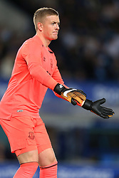 17th August 2017 - UEFA Europa League - Play-Off (1st Leg) - Everton v Hajduk Split - Everton goalkeeper Jordan Pickford - Photo: Simon Stacpoole / Offside.