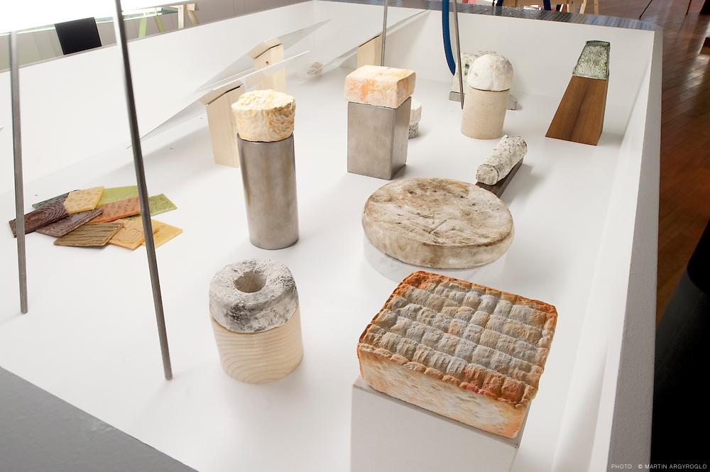 xposition au Lieu du Design : food design, aventures sensibles. 9 mars 2011 / 30 avril 2011