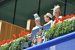 Left, the COUNTESS OF WESSEX at the first day of the 2014 Royal Ascot Racing Festival, Ascot Racecourse, Ascot, Berkshire on 17th June 2014.