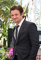 Actor Jeremy Renner.at The Immigrant Film Photocall Cannes Film Festival On Friday 24th May May 2013