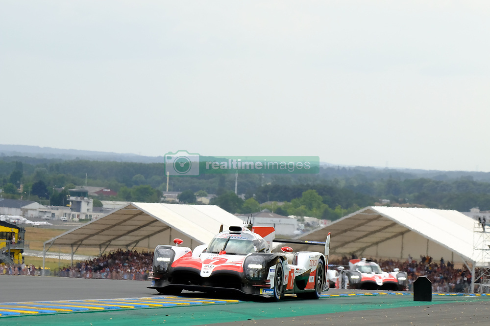June 16, 2018 - Le Mans, Sarthe, France - Toyota Gazoo Racing Toyota TS050 Hybrid Driver MIKE CONWAY (GBR) in action during the 86th edition of the 24 hours of Le Mans 2nd round of the FIA World Endurance Championship at the Sarthe circuit at Le Mans - France (Credit Image: © Pierre Stevenin via ZUMA Wire)
