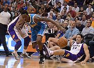 NBA:  New Orleans Hornets at Phoenix Suns//20130407