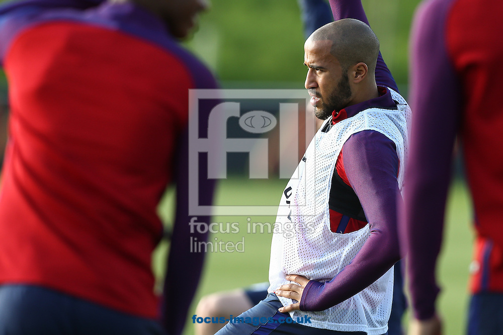 Andros Townsend (Crystal Palace) during the England training session at St Georges Park, Burton upon Trent<br /> Picture by Andy Kearns/Focus Images Ltd 0781 864 4264<br /> 04/10/2016