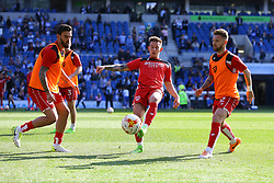 Bristol City players warm up - Mandatory by-line: Jason Brown/JMP - 29/04/2017 - FOOTBALL - Amex Stadium - Brighton, England - Brighton and Hove Albion v Bristol City - Sky Bet Championship