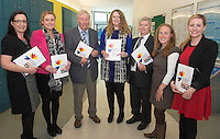 Sharon Lawless, Galway City Council, Michelle Harrison, HSE, Dan Quaid, HSE, Bernie Donnellan, Galway County Council, JJ O'Kane, HSE , Fiona O Donovan, HSE and Donna Gleeson Galway City and County Age Friendly Programme Implementation Team at NUIG for the launch of the Galway Age Friendly Strategy, which sets out a plan to make Galway City and County a great place in which to grow up and grow old. The Strategy was developed following extensive consultation with older people across the city and county and aims to ensure that older people continue to be supported to play an active role in their communities. The launch of the strategy is an important milestone as it sets out a blueprint for how we will plan and develop communities in the coming years to ensure that Galway is a truly great place in which to grow up and grow old. Photo:Andrew Downes