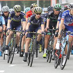30-08-2017: Wielrennen: Boels Ladies Tour: Arnhem: Shara Gillow: Amanda Spratt: Sarah Roy