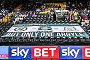 Plymouth Argyle flag at Meadow Lane during the Sky Bet League 2 match between Notts County and Plymouth Argyle at Meadow Lane, Nottingham, England on 11 October 2015. Photo by Simon Davies.