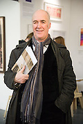 CHARLES SAUMARAZ SMITH, Art13 London First night, Olympia Grand Hall, London. 28 February 2013