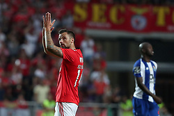 October 7, 2018 - Lisbon, Portugal - Benfica's Suisse forward Haris Seferovic reacts during the Portuguese League football match SL Benfica vs FC Porto at the Luz stadium in Lisbon on October 7, 2018. (Credit Image: © Pedro Fiuza/ZUMA Wire)