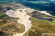 Nederland, Noord-Brabant, Gemeente Someren, 26-06-2014;  Strabrechtse Heide tussen Heeze, Someren en Geldrop.<br /> luchtfoto (toeslag op standaard tarieven);<br /> aerial photo (additional fee required);<br /> copyright foto/photo Siebe Swart.