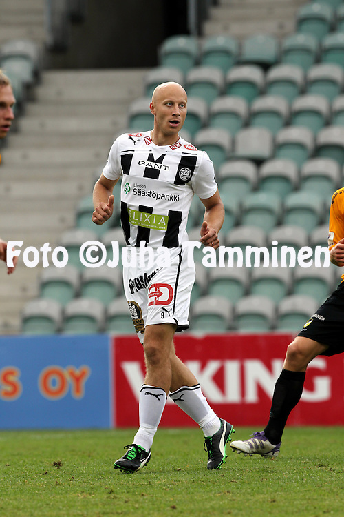 9.7.2012, Veritas stadion (Kupittaa), Turku..Veikkausliiga 2012..FC TPS Turku - FC Honka..Mikko Hyyrynen - TPS.