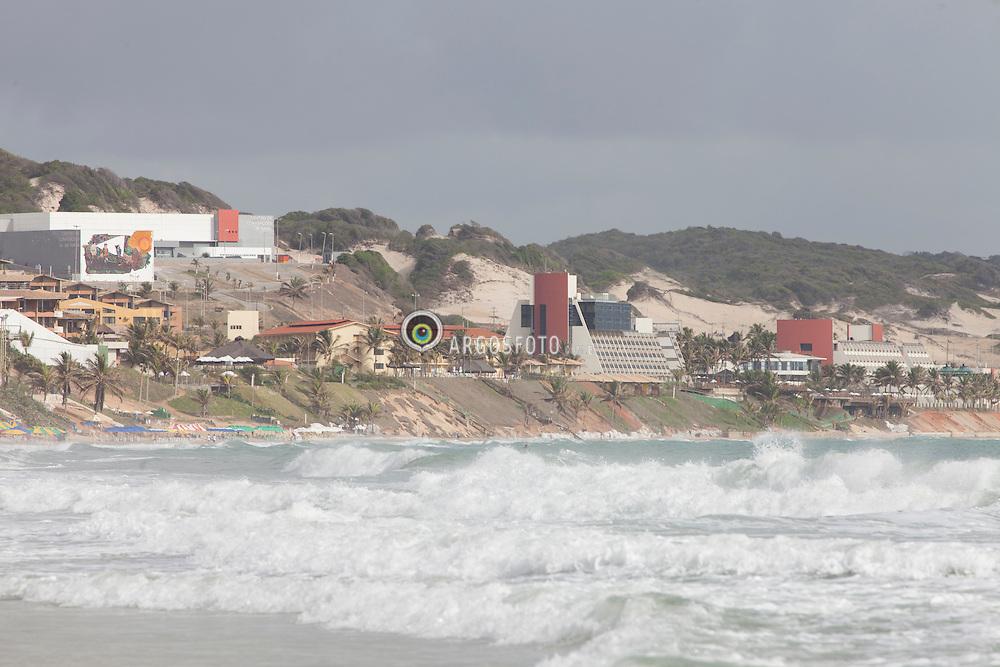 Praia Ponta negra em Natal, Rio Grande do Norte / Ponta Negra beach, Rio Grande do Norte, Brazil - 2013