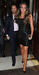 Tamara Ecclestone and Jay Rutland attend My Beautiful Ball held at the Landmark Hotel London<br />