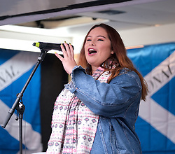 Independence Rally, Glasgow, Saturday 2nd November 2019<br /> <br /> Pictured: Valentina Servera Clavell <br /> <br /> Alex Todd | Edinburgh Elite media