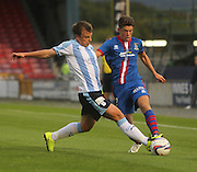 Dundee's Paul McGowan and Inverness Caledonian Thistle's Ryan Christie - Inverness Caledonian Thistle v Dundee, SPFL Premiership at Tulloch Caledonian Stadium<br /> <br />  - &copy; David Young - www.davidyoungphoto.co.uk - email: davidyoungphoto@gmail.com