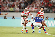 Isileli NAKAJIMA (JPN) during the Japan 2019 Rugby World Cup Pool A match between Japan and Russia at the Tokyo Stadium in Tokyo on September 20, 2019.