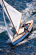 Surprise, S Class, racing in the Museum of Yachting Classic Yacht Regatta.