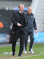 Steve McClaren Manager Derby,  Derby County, Derby County v Brentford, Sy Bet Championship, IPro Stadium, Saturday 11th April 2015. Score 1-1,  (Bent 92) (Pritchard 28)<br /> Att 30,050