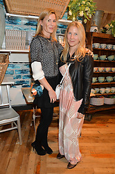 Left to right, ALEX BAMFORD and LEO BAMFORD at a party to celebrate the publication of 'Inspire: The Art of Living With Nature' by Willow Crossley held at Anthropologie, 131-141 Kings Road, London on 13th March 2014.