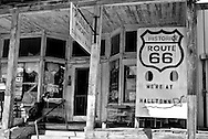 .Whitehall Mercantile in Halltown Missouri. .Driving the Illinois and Missouri road of Route 66.. Route 66 in America.
