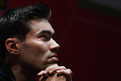 February 23, 2019 - Abu Dhabi, United Arab Emirates - Tom Dumoulin of Netherlands and Team Sunweb, during Top Riders press conference inside the Louvre Abu Dhabi Museum..On Saturday, February 23, 2019, Abu Dhabi, United Arab Emirates. (Credit Image: © Artur Widak/NurPhoto via ZUMA Press)